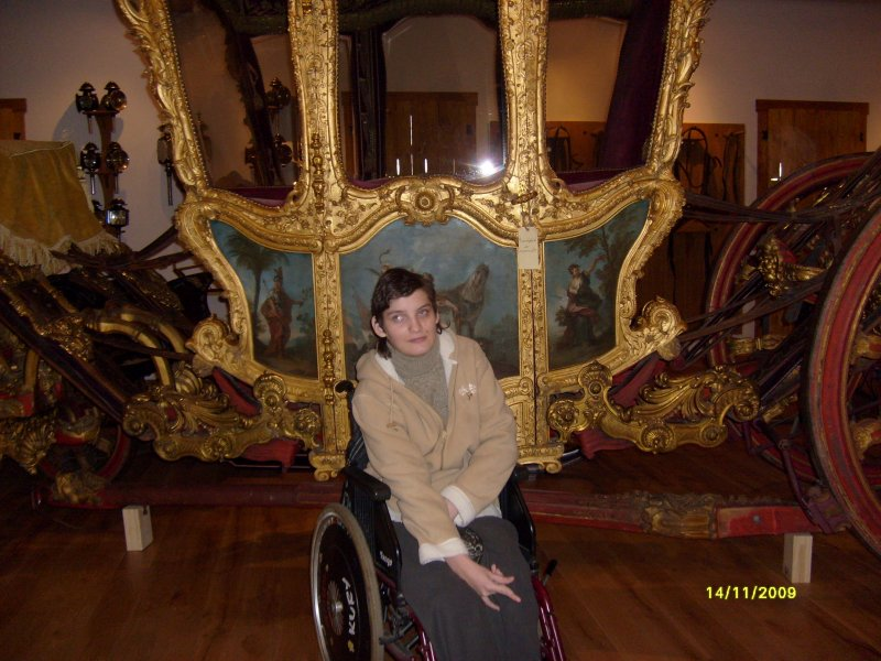 Magda u zlatého kočáru