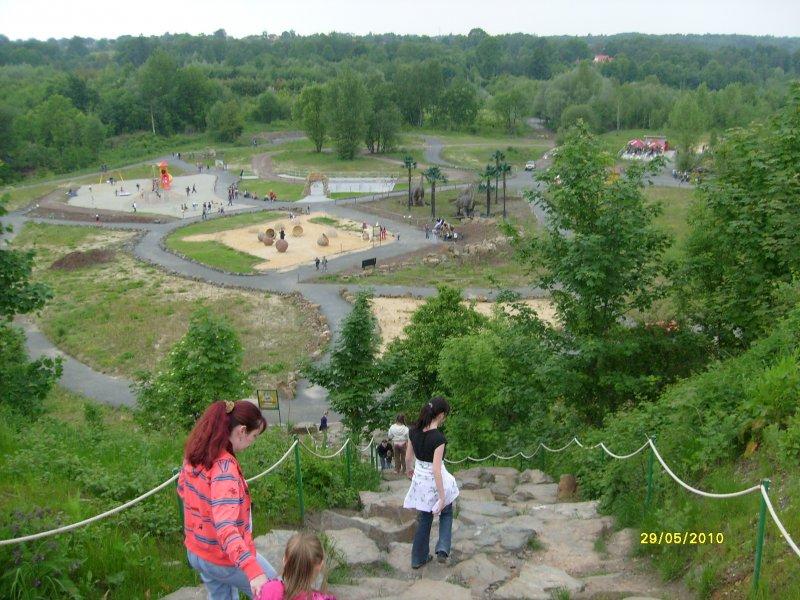 Stezka pro fyzicky zdatné návštěvníky