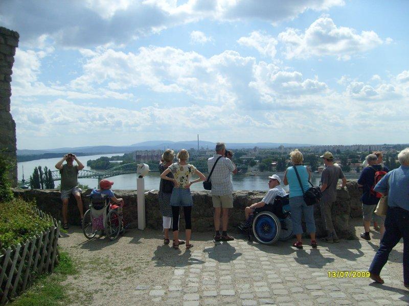Výhled na slovenské Štúrovo