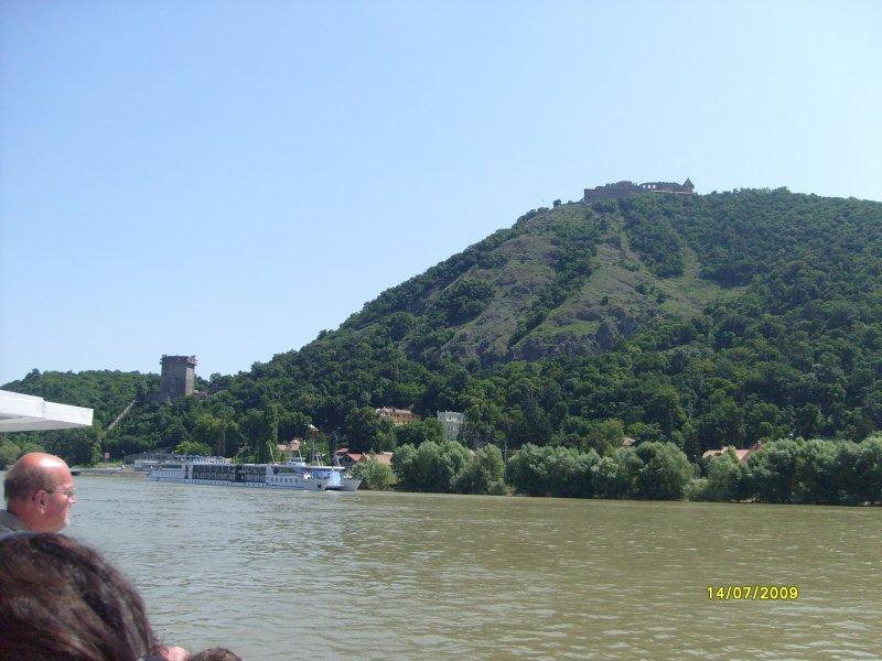 Pohled na majestátný Visegrád